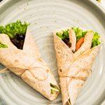 Spontane Einfälle und einfache Hähnchen Tortillas