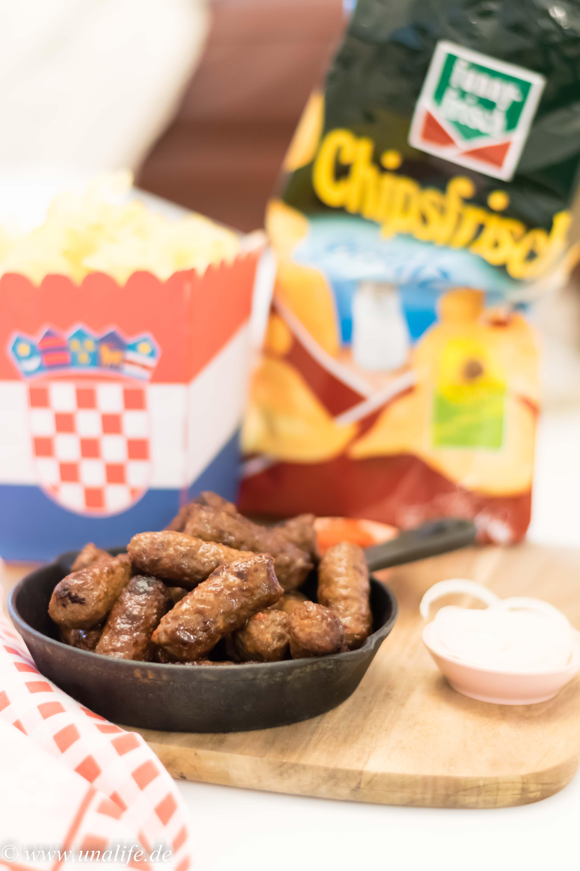Chips-Wahl - Rezept Cevapcici
