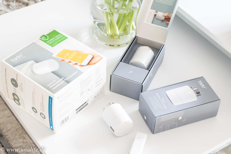 wir werden smart mit tado heizk rper thermostat von e on plus unalife. Black Bedroom Furniture Sets. Home Design Ideas