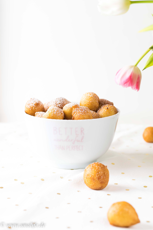 schnelle Quarkbällchen mit Joghurt