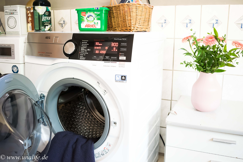 Erfahrungen mit dem aeg waschtrockner l9we86605