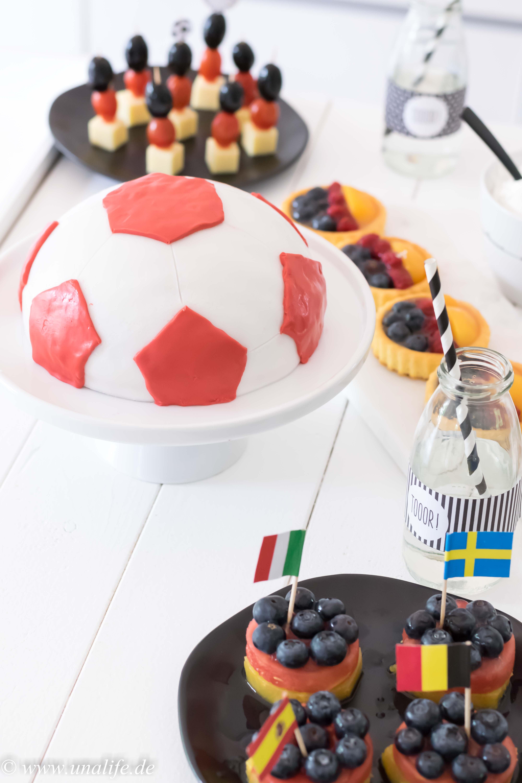 WM Snacks Fußball schnell und einfach