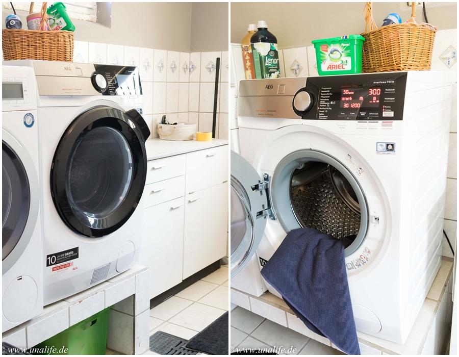 Erfahrungen mit dem aeg waschtrockner l we
