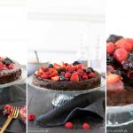 Leckere Schoko-Beeren Torte – ein einfaches Rezept