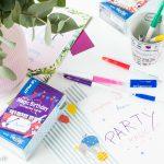 Magische Einladungskarten zum Kindergeburtstag basteln