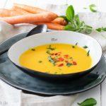 Herbstzeit ist Suppenzeit, Rezept für leckere MÖHRENSUPPE