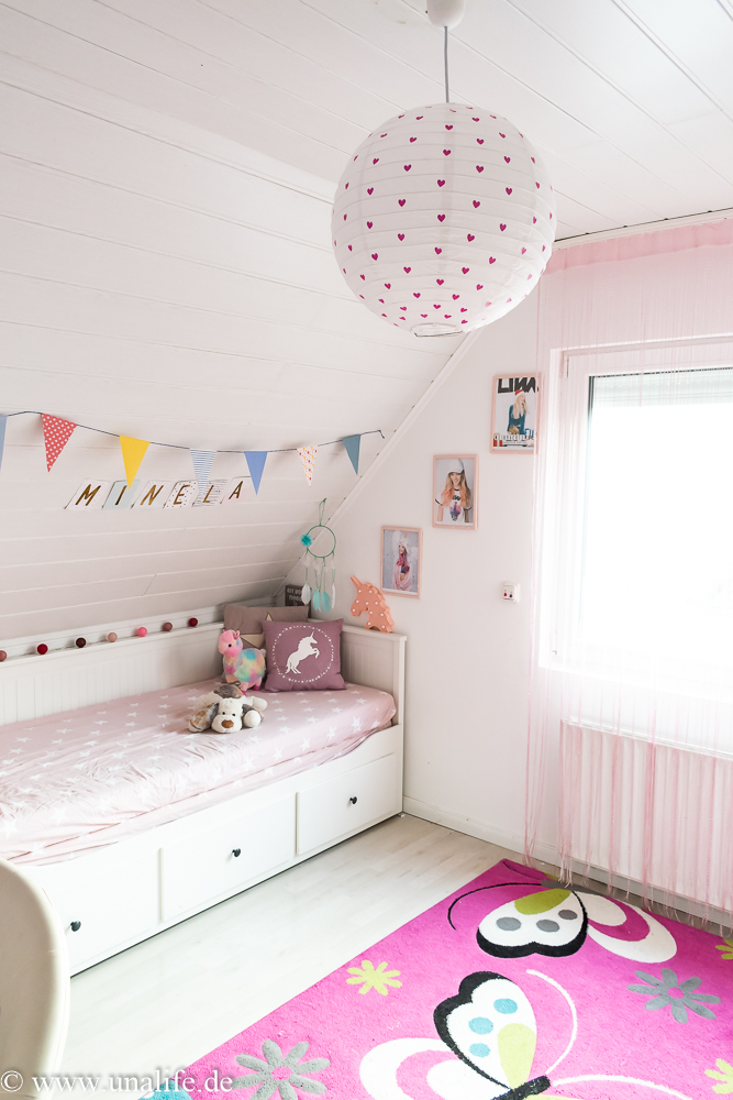 Ideen für das Kinderzimmer - DIY Lampe - Unalife