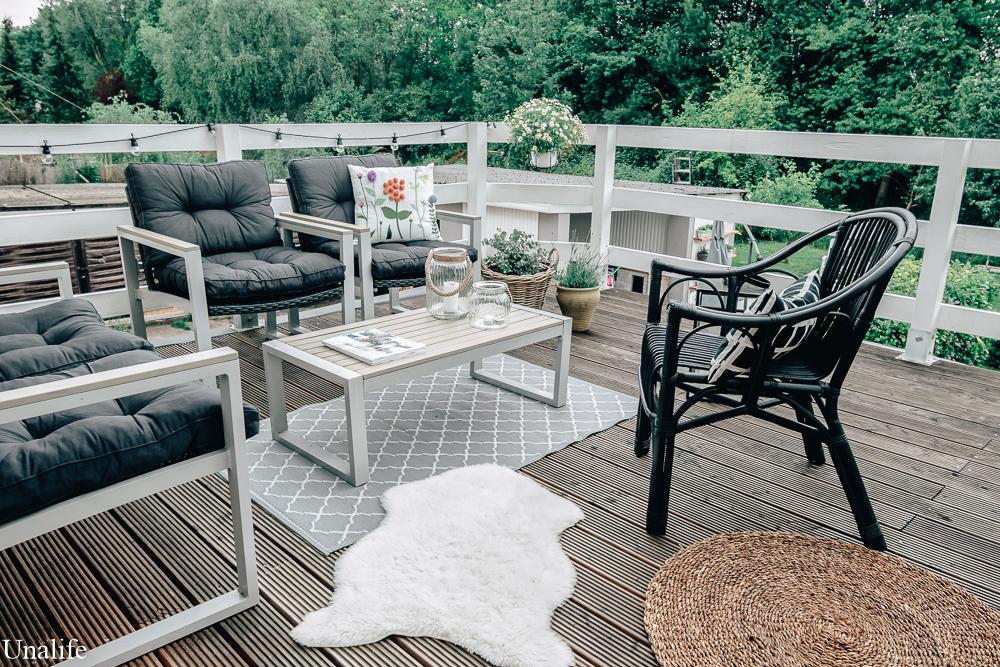 Terrasse dekorieren Tipps