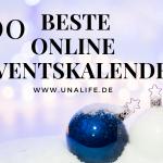 100 BESTE ONLINE ADVENTSKALENDER 2019
