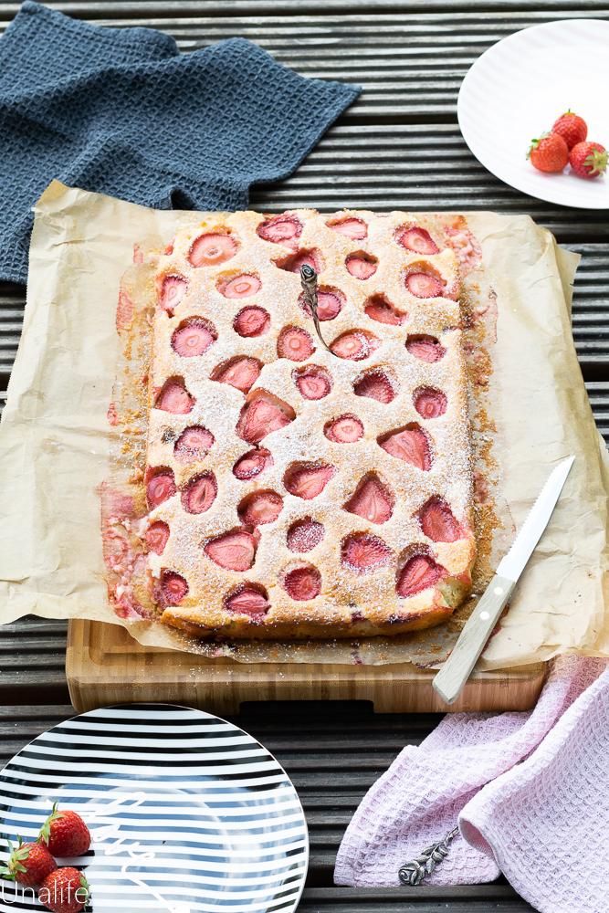 Erdbeerkuchen, Rezepte mit Erdbeeren