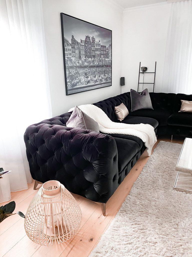 Wanddekoration über dem Sofa Leinwand