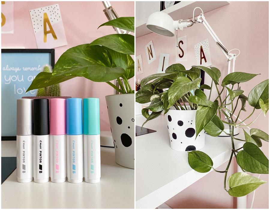 Ikea Hacks mit PILOT PINTOR Vasen bemalen