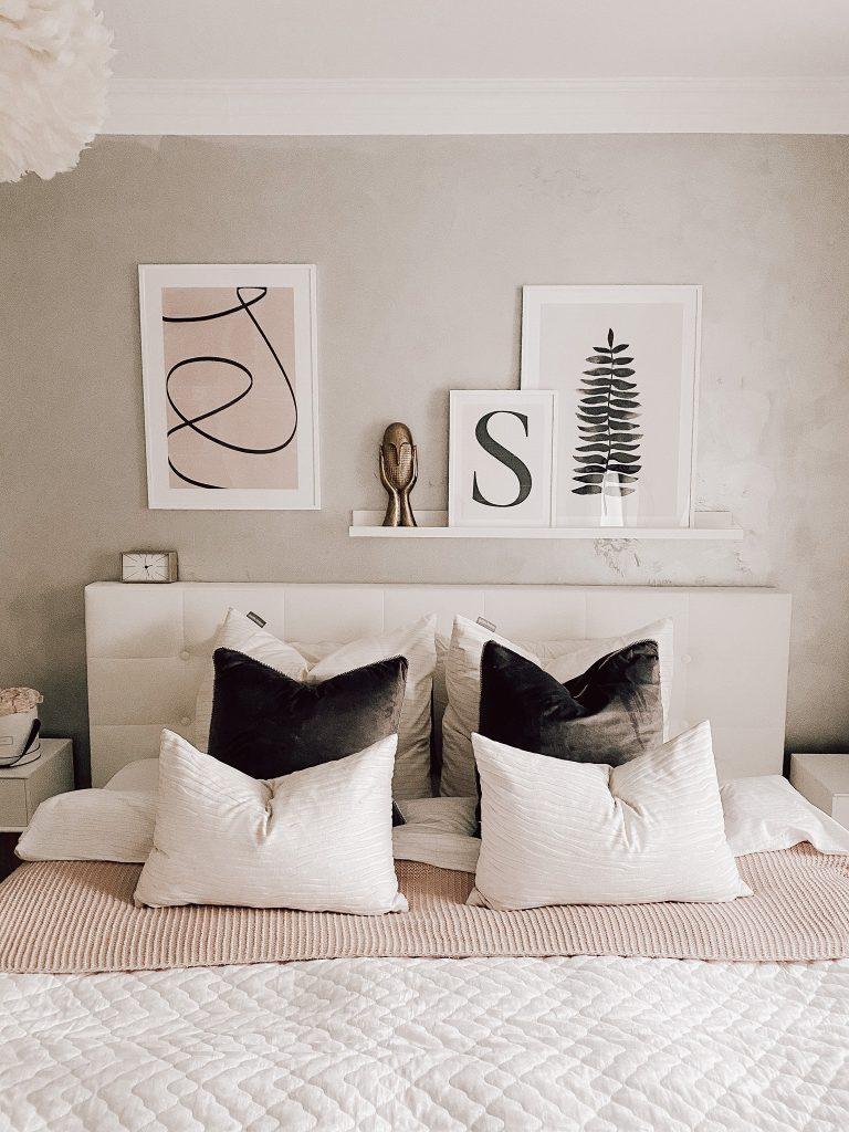 Wanddekoration Schlafzimmer