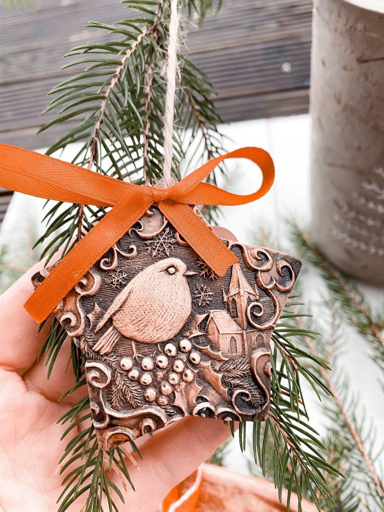 weihnachtsbaumschmuck keramik
