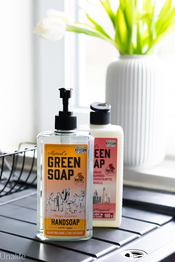 umweltfreundliche Seife Marcel's Green Soap