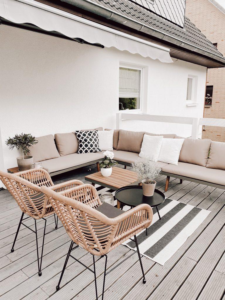 Garten Lounge Terrassendeko