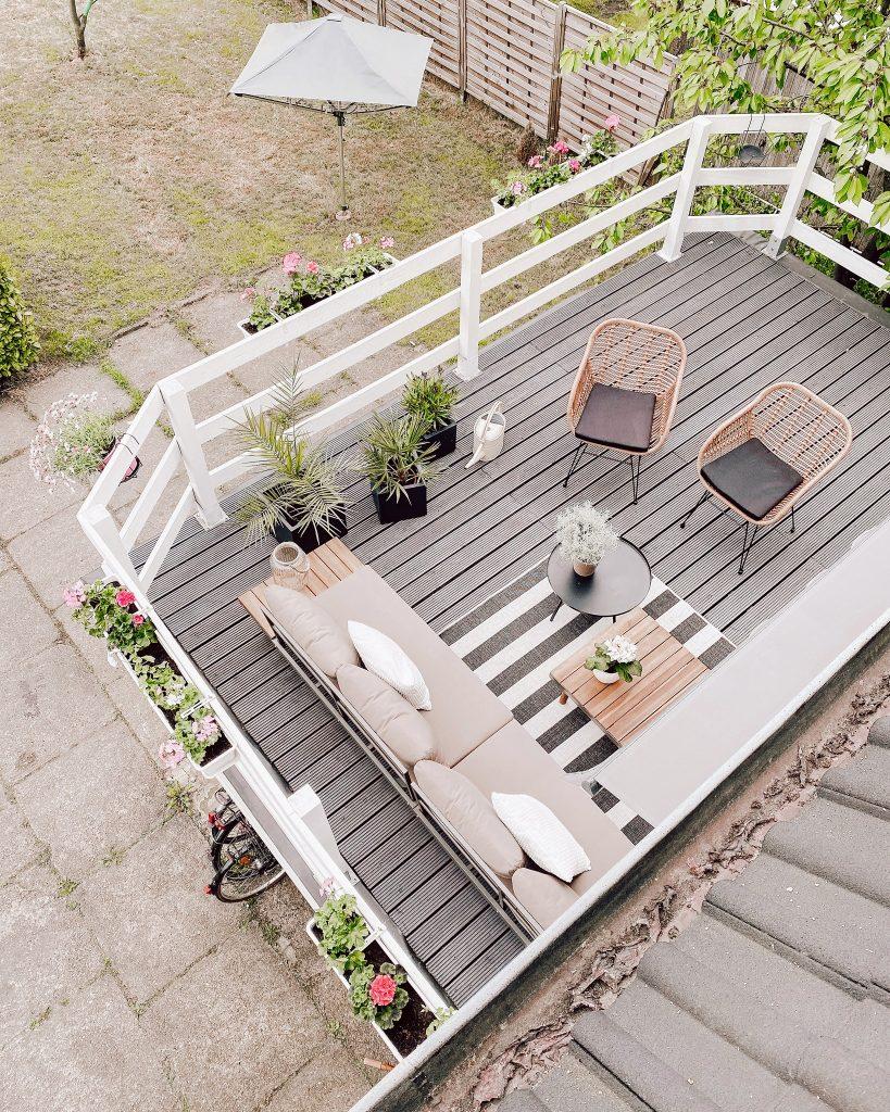 DIY Terrasse selbst gebaut